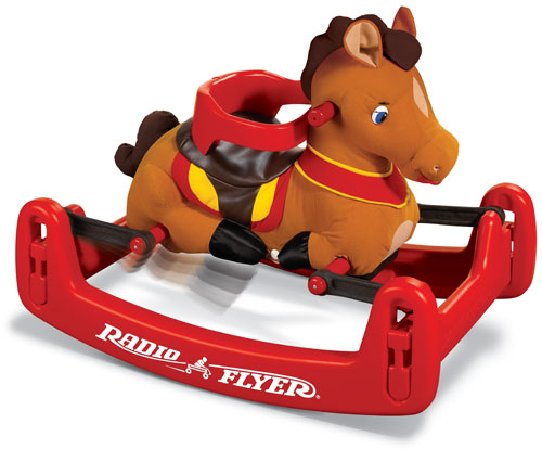Radio Flyer Classic Rock & Bounce Pony