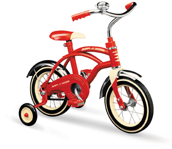 Radio Flyer Classic Red Bicycle (10 wheel)