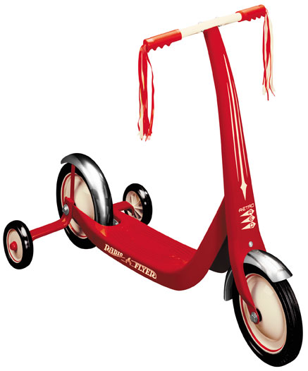 Radio Flyer Classic Red Scooter