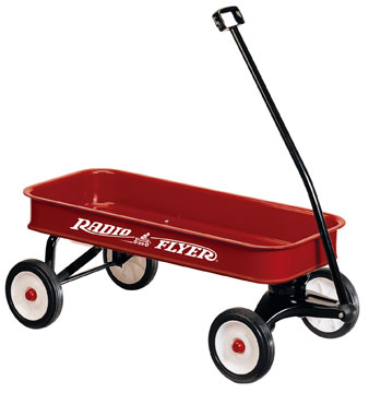 Radio Flyer 34 Steel Red Wagon