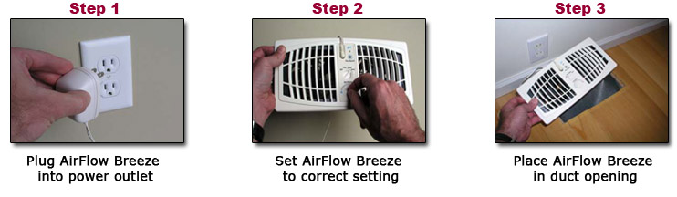 Register vent booster fan 6 x 10 or 12 almond for How to improve airflow in vents