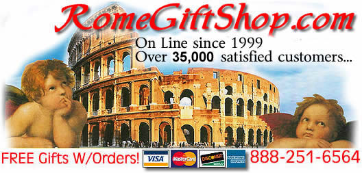souvenirs from rome italy, gifts from italy, free italian recipes, free italian lessons, italian gifts, Rome Gift Shop
