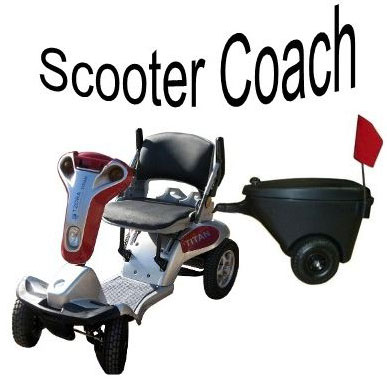 Titan high performance scooter Handy Coach