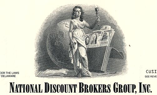National discount brokers group inc