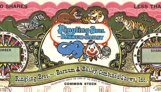Barnum And Bailey. Bros. and Barnum amp; Bailey®