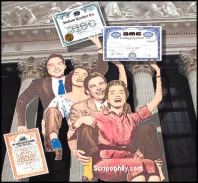 Scripophily – Collectible Stock Certificates