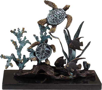 The finest solid brass and bronze sculptures
