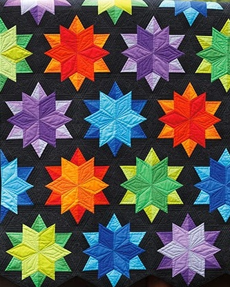 Night Sky by JayBird Quilts.