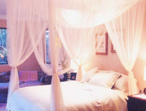 Cotton Mosquito Nets and Bed Canopies. Silk Mosquito Nets and Bed