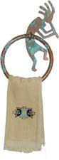 Kokopelli Towel Ring