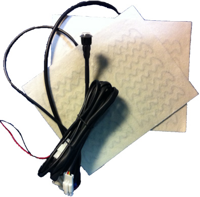 24 Volt Seat Heater Kit