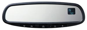 Homelink/Compass/Temperature Auto-Dimming Mirror