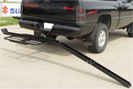 Single 50cc Motorcycle Hitch Carrier with Ramp