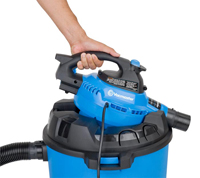 Detachable Blower Wet/Dry Vacuum, 12 Gallon, 5 Peak HP