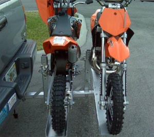 Two 50 cc Bike Hitch Carrier