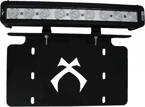 LED Light Bar Front License Plate Bracket