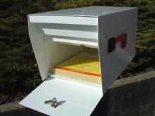 Aluminum Locking Mailbox