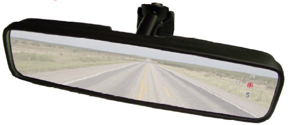 Compass Rosette Mirror; Rear View Mirror