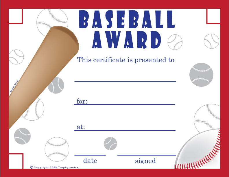 Superb image in free printable sports certificates