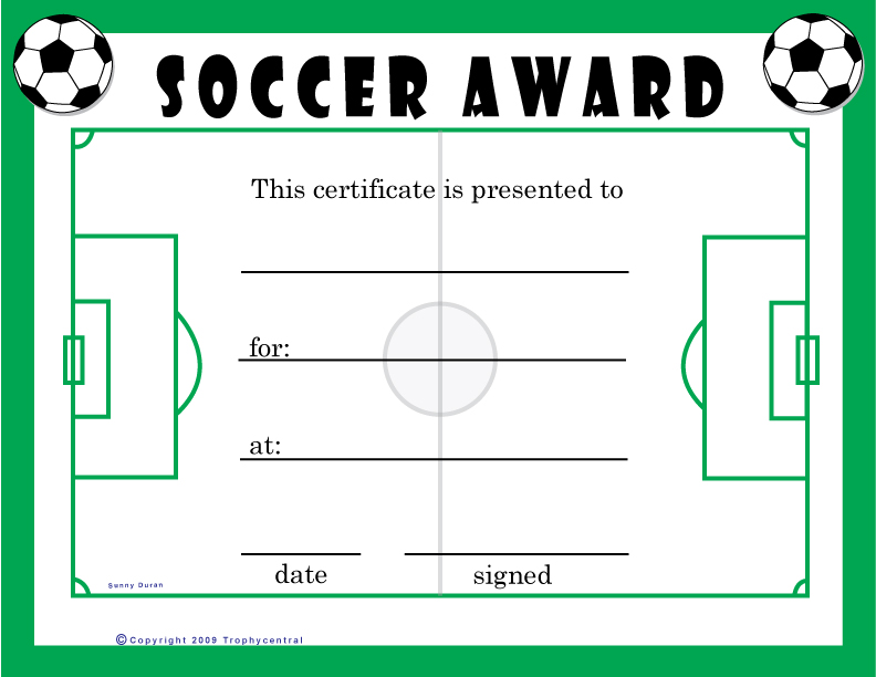 Soccer awards templates exolabogados soccer awards templates yadclub Gallery