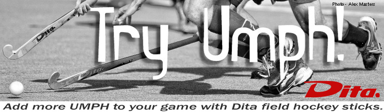Add more Umph to your game with Dita field hockey sticks.