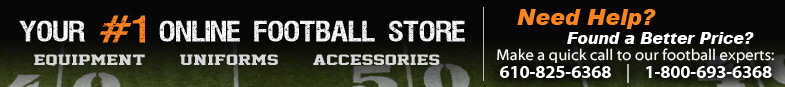 Your #1 Online Football Store