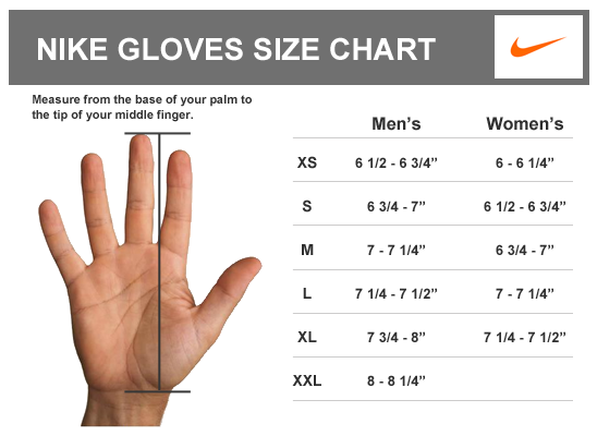 beuchat gloves size chart Use a soft measuring tape to measure the circumference of the dominant hand around the knuckles measure from the wrist crease to the tip of the middle finger.