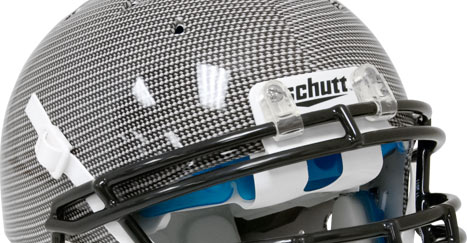 Schutt Recruit Hybrid with Carbon Fiber Aqua Tech Graphics