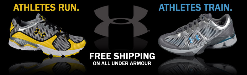 Under Armour Running and Training Footwear