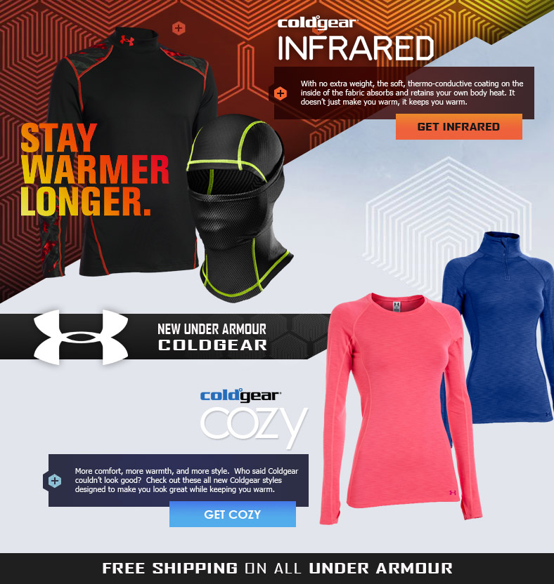 UA Coldgear Infrared