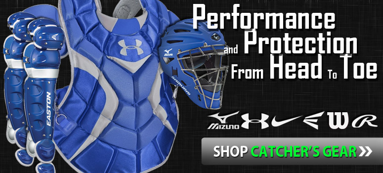 Shop Baseball Catchers Gear
