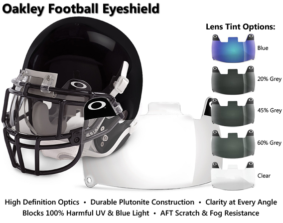 Oakley Football Visor
