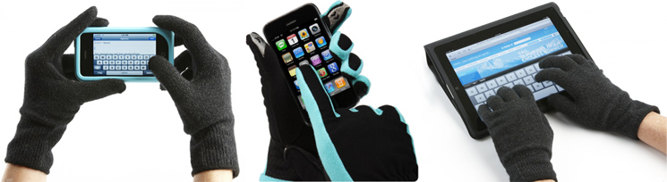 Touch Screen Gloves Compatible With All Devices