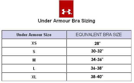 Training Bra Size Chart - Backless Bra