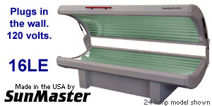 SunMaster SM16LE tanning bed