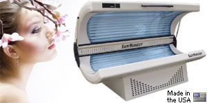 SunMaster SM32E tanning bed