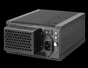 Black Fanless Power Supply