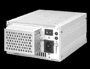 White Fanless Power Supply