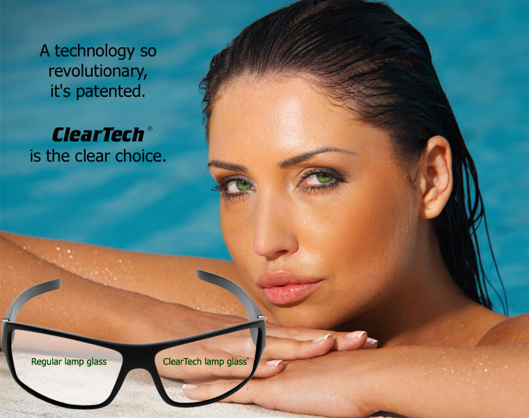 SunMaster ClearTech tanning lamps are the clear choice