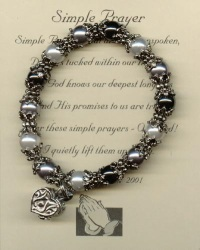 Jewelry Gift Ideas: Thumbies Fingerprint Jewelry, Prayer Box Bracelets, Virtue Bracelet, and more