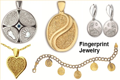 Thumbies Fingerprint Jewelry Keepsake Gifts