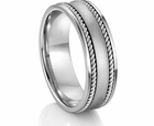 Artcarved Reg Palladium Wedding Band Luxor 5