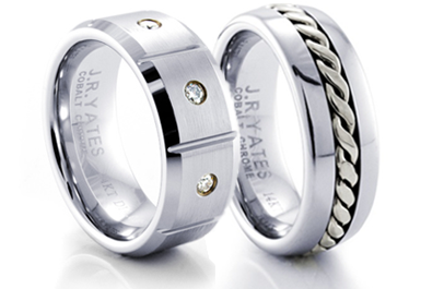 mens cobalt rings