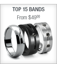 Top 15 tungsten and titanium rings