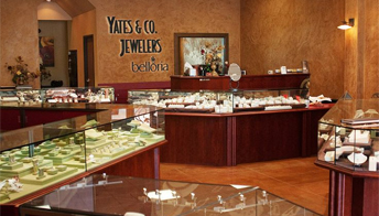 Come visit us at our physcial store in Modesto, CA - Yates & Co Jewelers