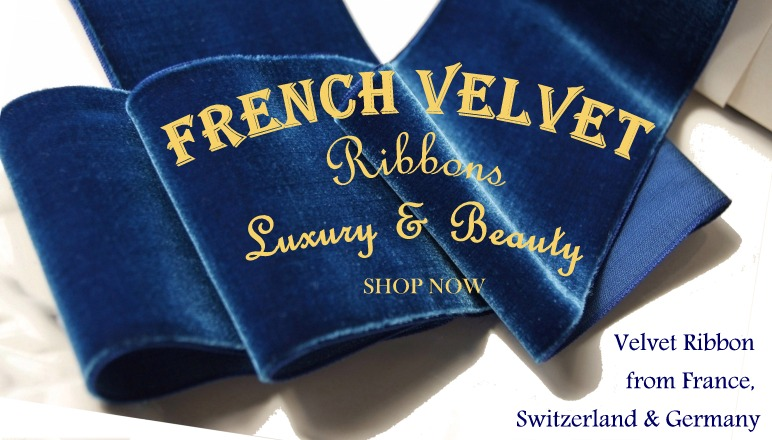 French Velvet Ribbons