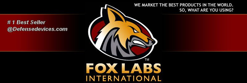Fox Labs Pepper Spray Logo
