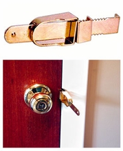 Portable Door Lock from the INside