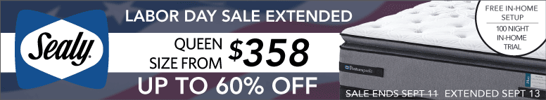 Huge Sealy Sale