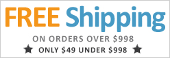 Free Shipping on Orders $998 and Up